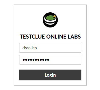 testclue lab login